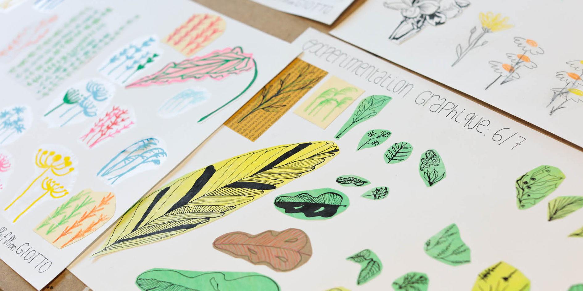 travaux design graphique esma montpellier
