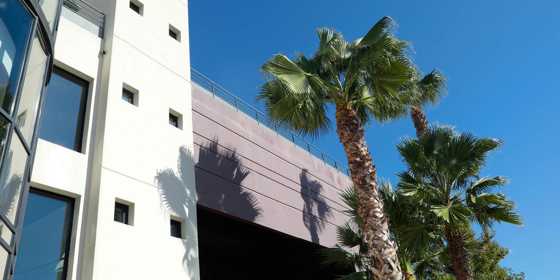vue du bâtiment esma montpellier