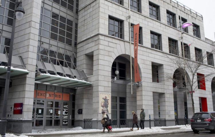 Bâtiment Ex-Centris Montréal
