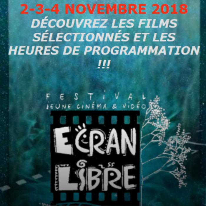 4 courts-métrages sélectionnés au festival Écran Libre
