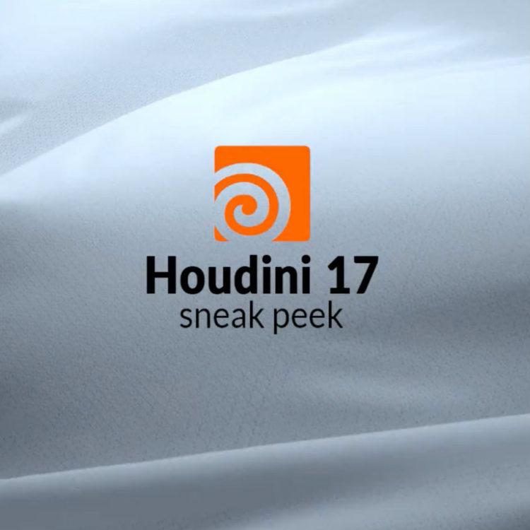 SideFX Houdini 17 is coming!