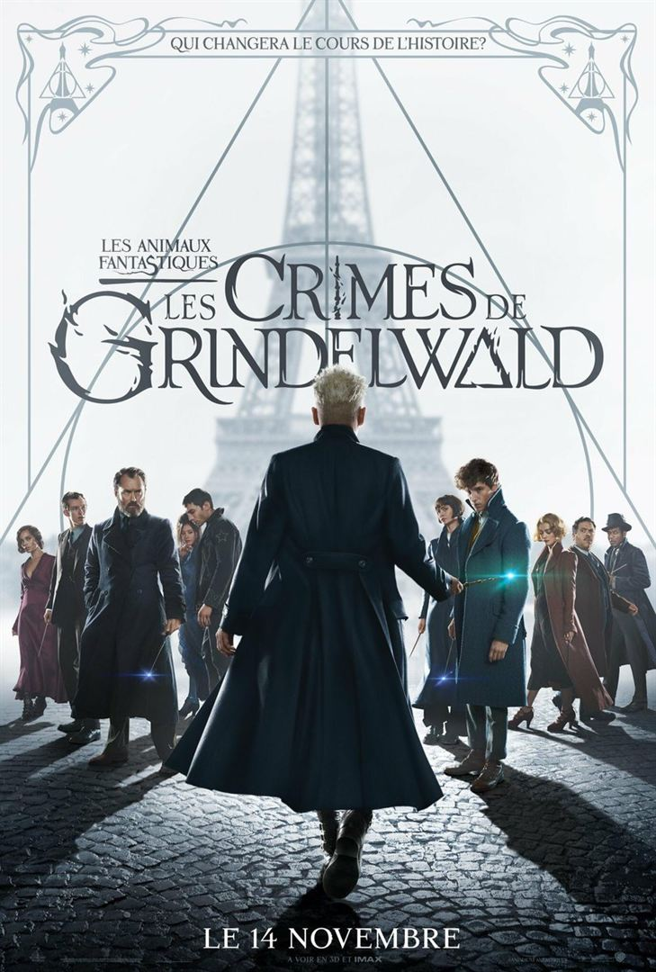 [Spotted 14]  Our alumni on the credits of Fantastic Beasts: The Crimes of Grindelwald