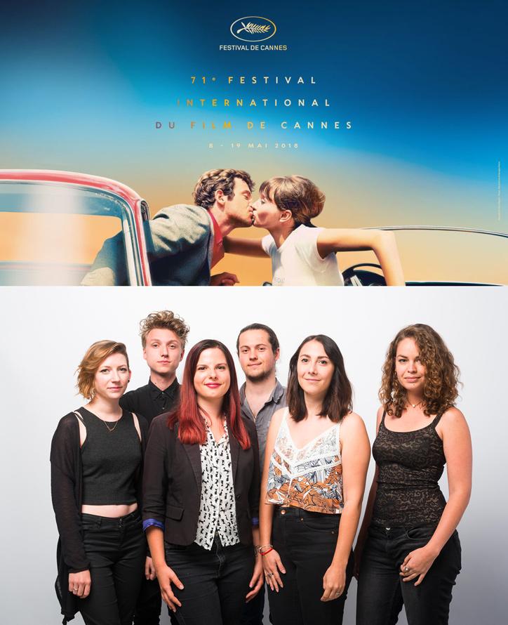 6 étudiants de l'ESMA montent les marches  de Cannes !