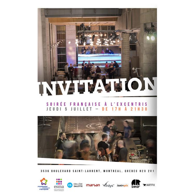 Les industries Culturelles et Créatives se réunissent dans le nouveau bâtiment de l'ESMA à Montréal !