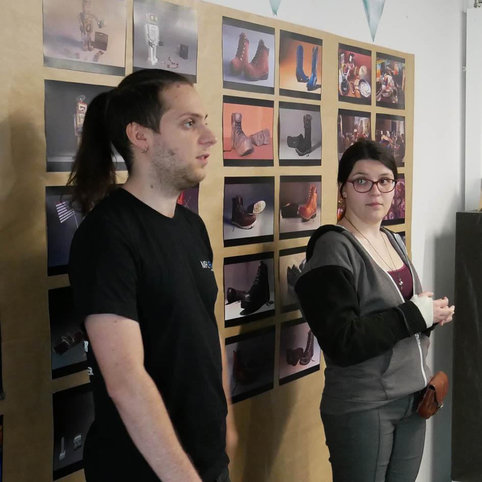 Charlotte Perroux et Yoann Lemoine en conférence