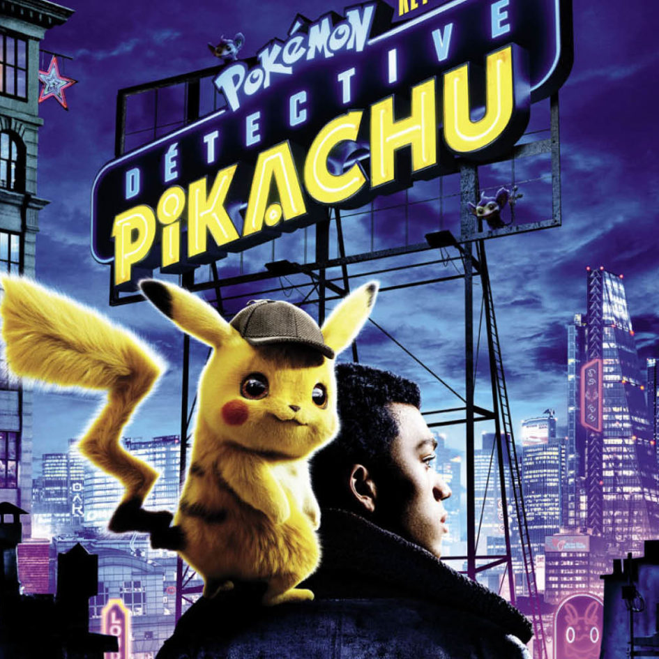 Spotted : les anciens étudiants de l'ESMA à l'affiche du film Pokémon : Détective Pikachu