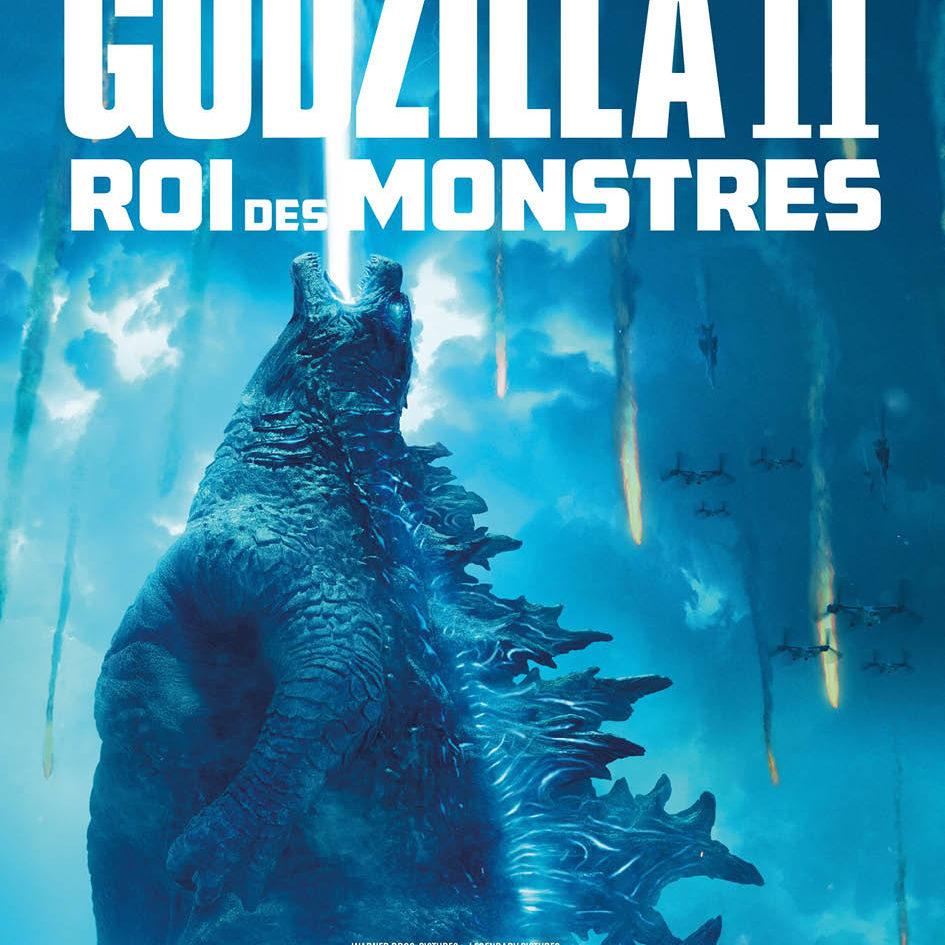 Affiche française godzilla roi des monstres