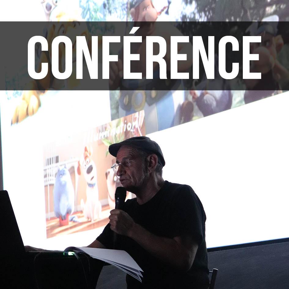 Gérard Raucoules en conférence à Toulouse sur les métiers de l'animation 3D et des effets spéciaux
