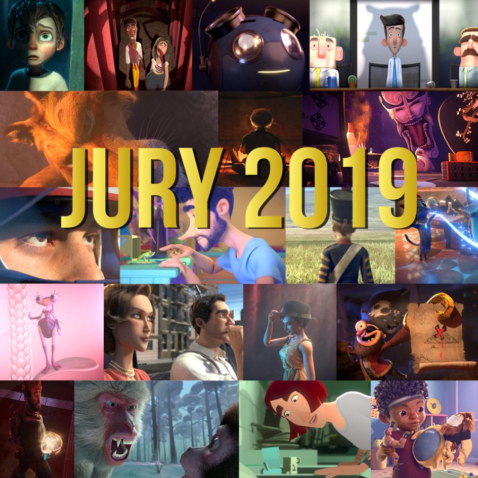 Visuel de présentation des 19 films de la promotion 2019