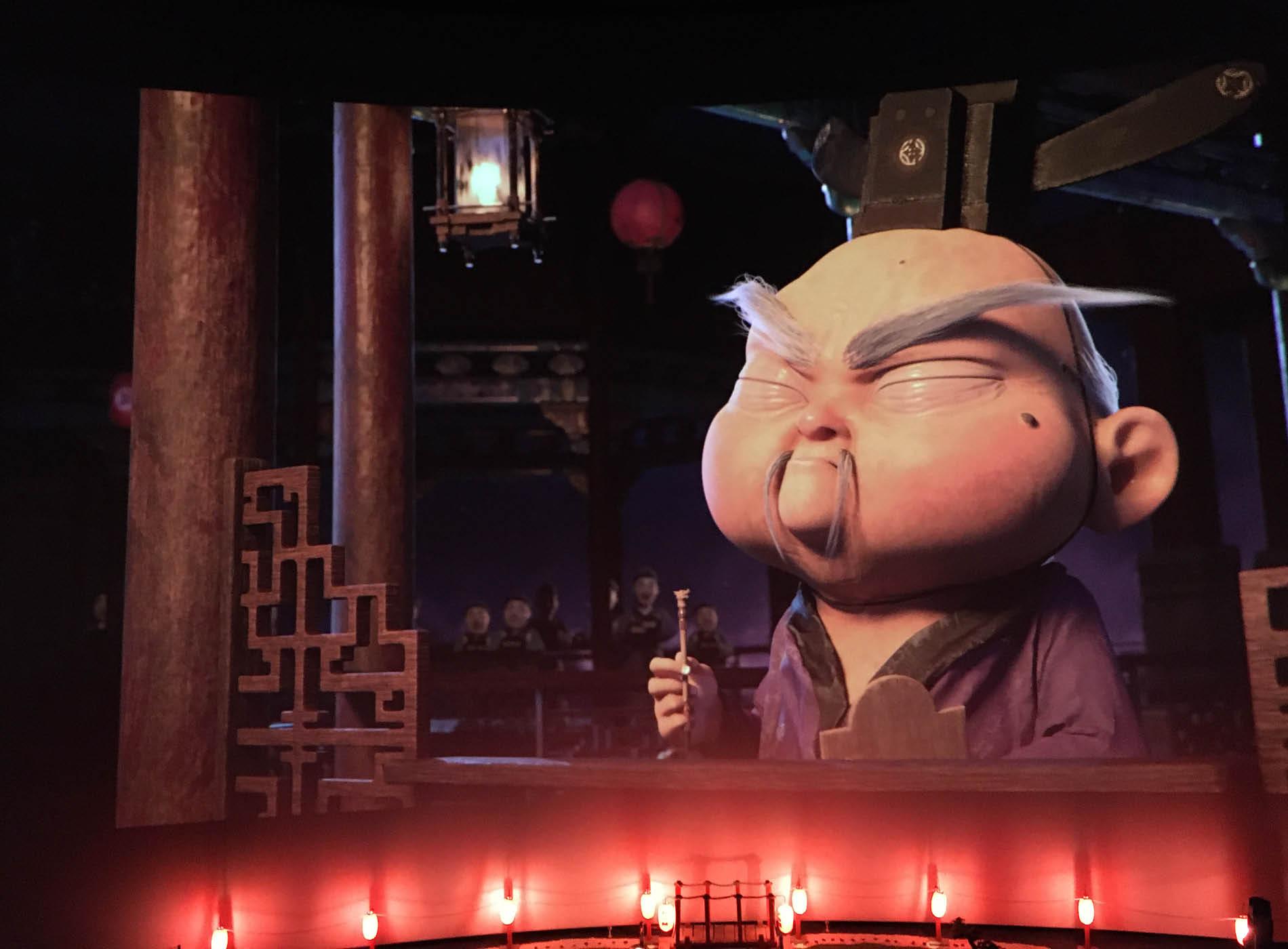 Extrait du film Achoo en projection au parc vulcania pour une semaine thématique sur les dragons