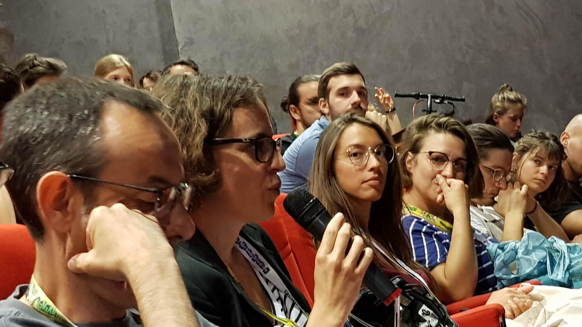 Public et jury du Cartoon Forum 2019