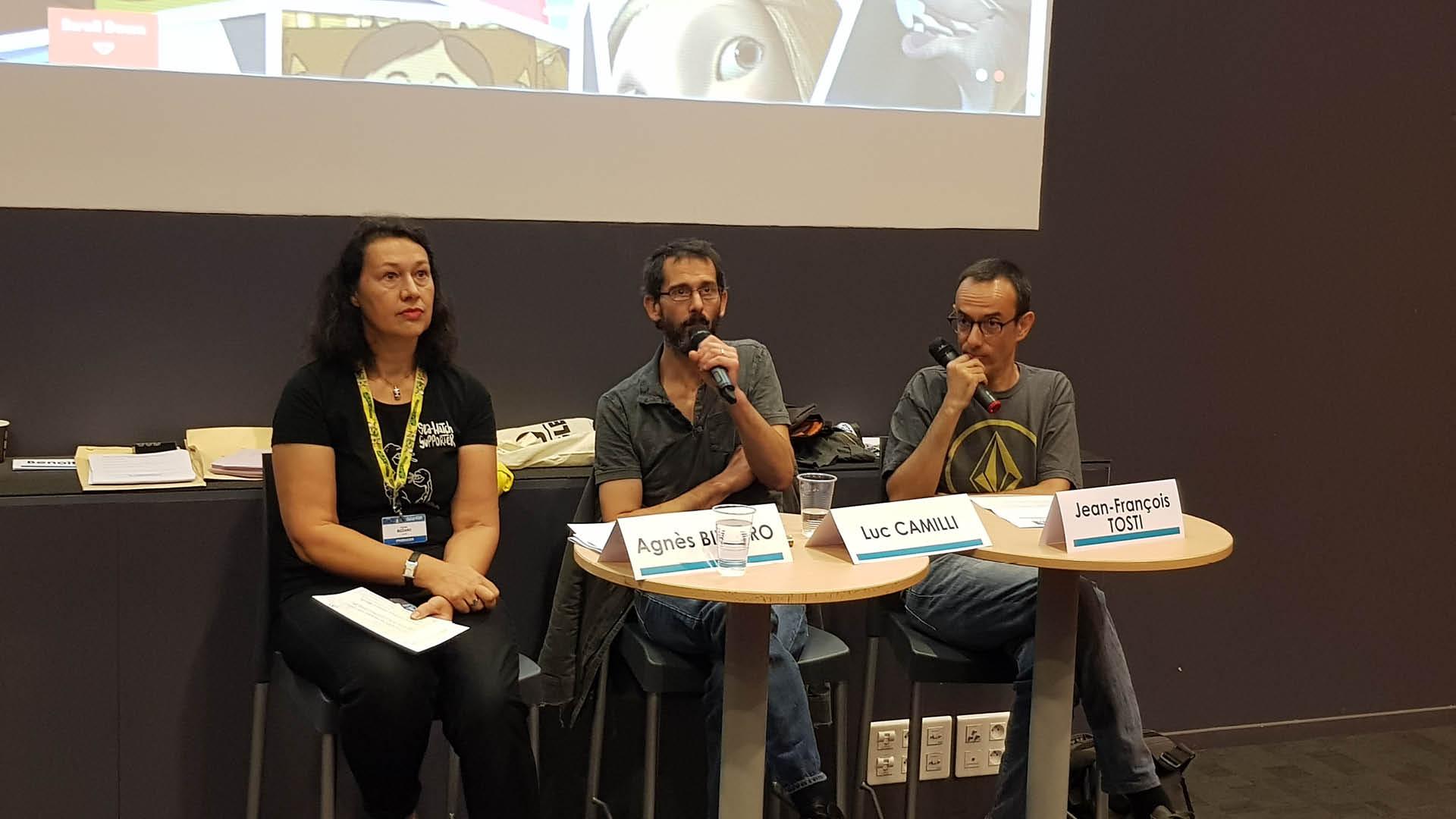 Membres du jury du Cartoon Forum 2019 à Toulouse