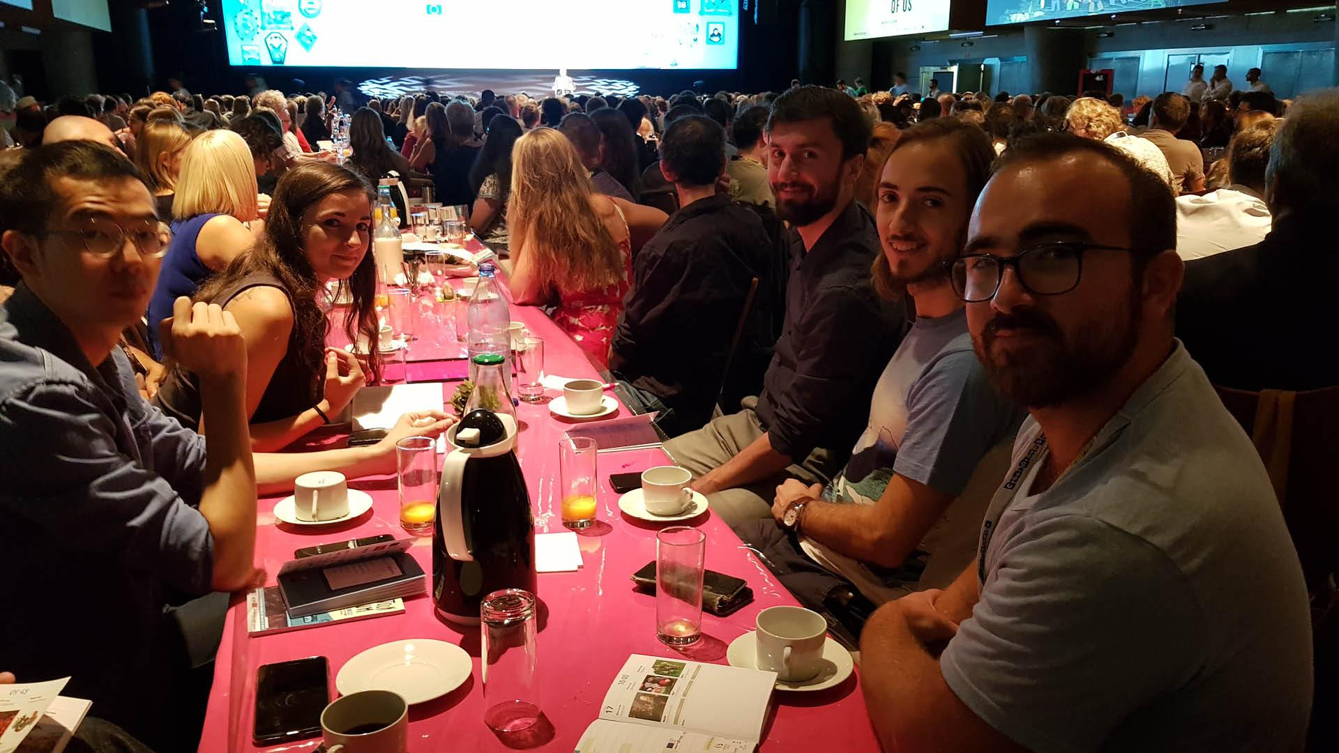 Etudiants de l'ESMA au Cartoon Forum 2019 à Toulouse