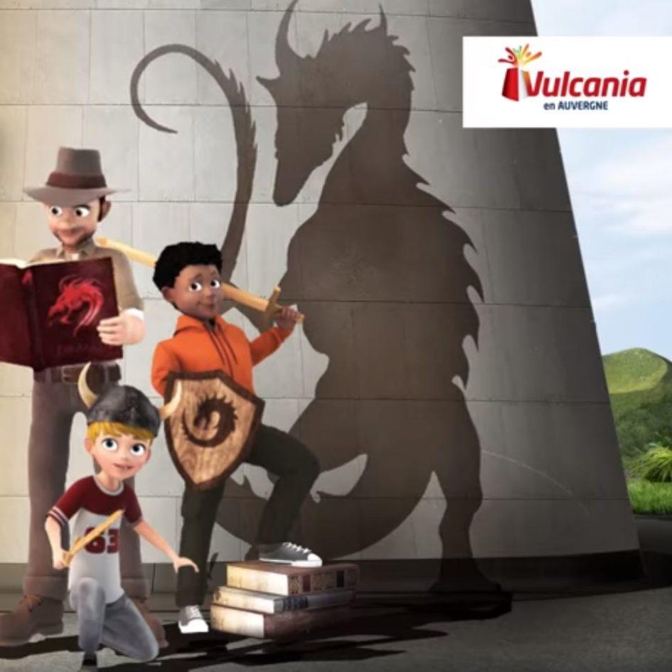 Vulcania Domptez les dragons