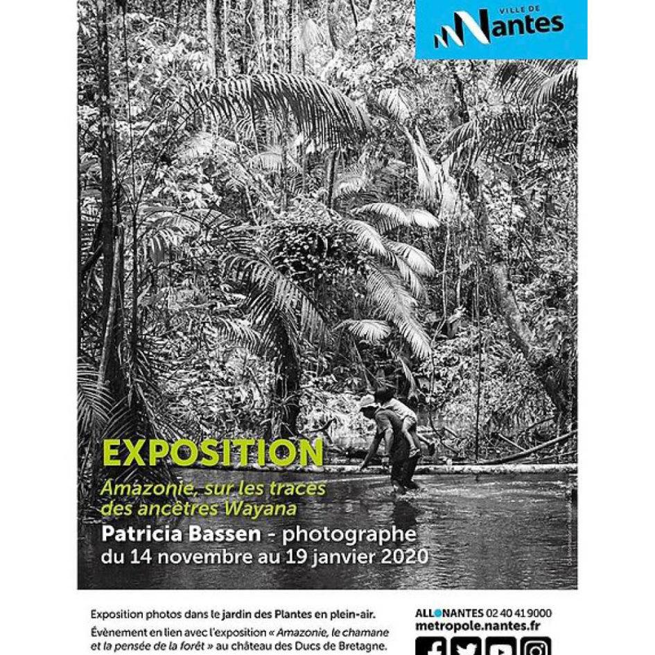 Affiche exposition Patricia Bassen à Nantes