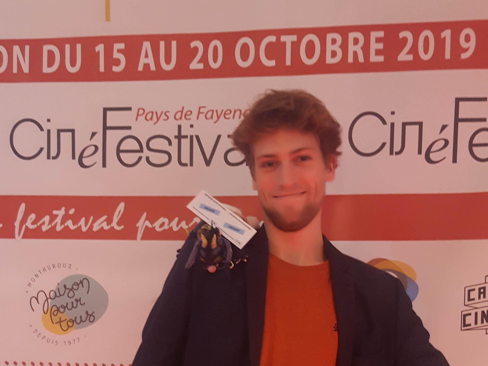 lucas boutrot au ciné festival en pays de fayence 2019
