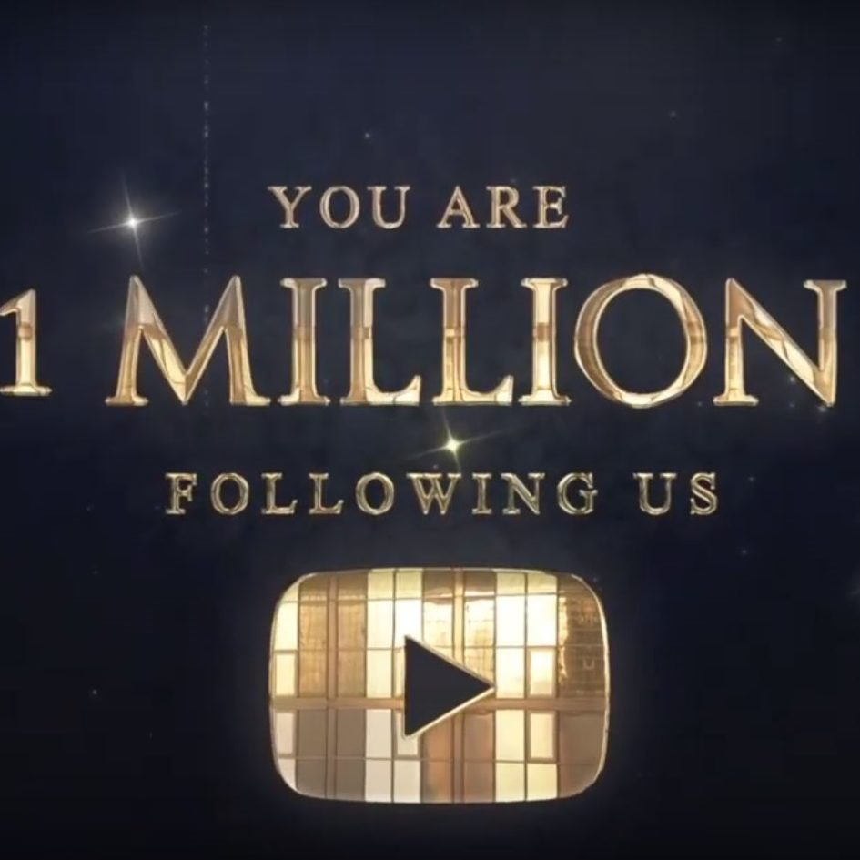 1 million youtube