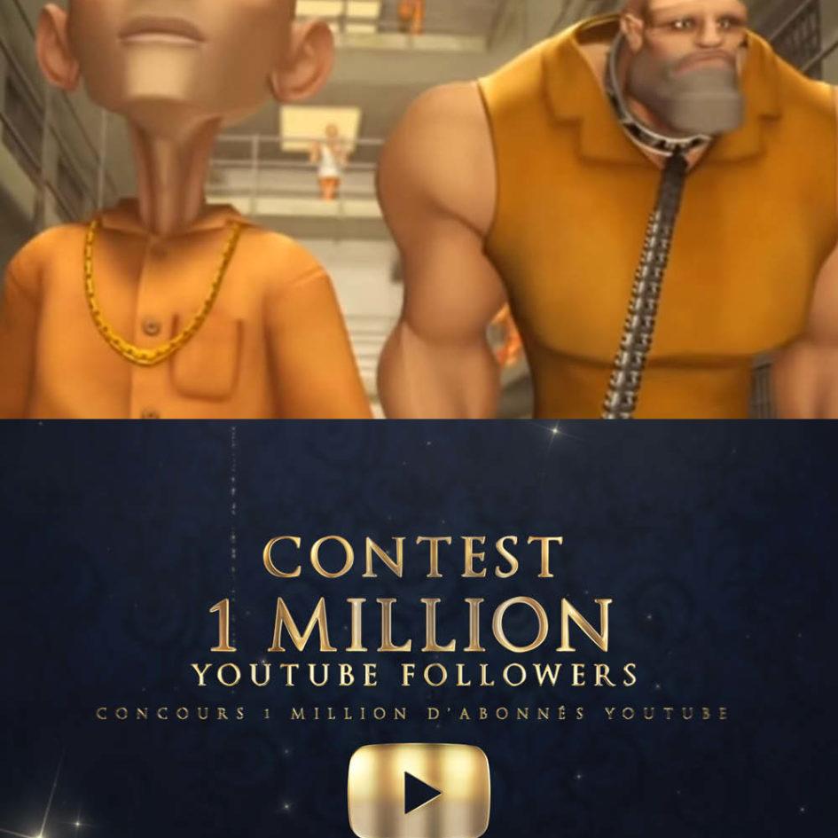 Dossier spécialo 1 million abonnés Youtube Jungle Jail ESMA