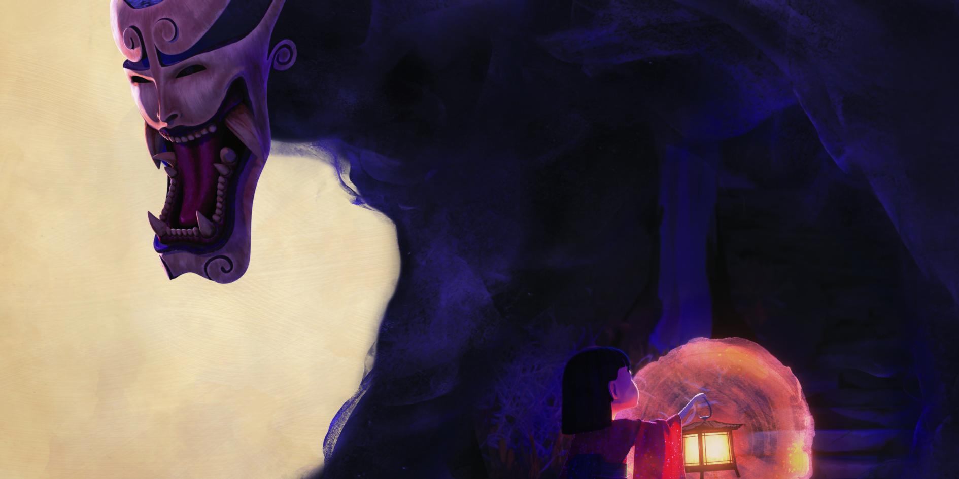 Affiche une lanterne dans la nuit ESMA