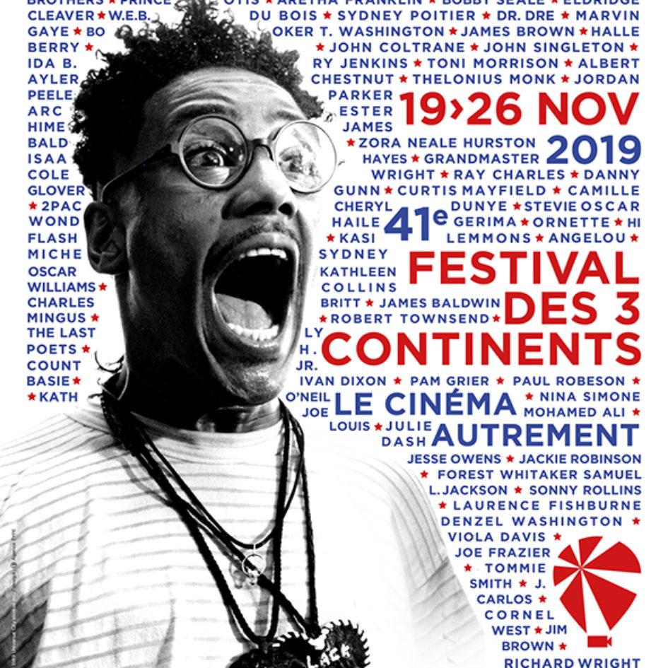 affiche festival des 3 continents 2019