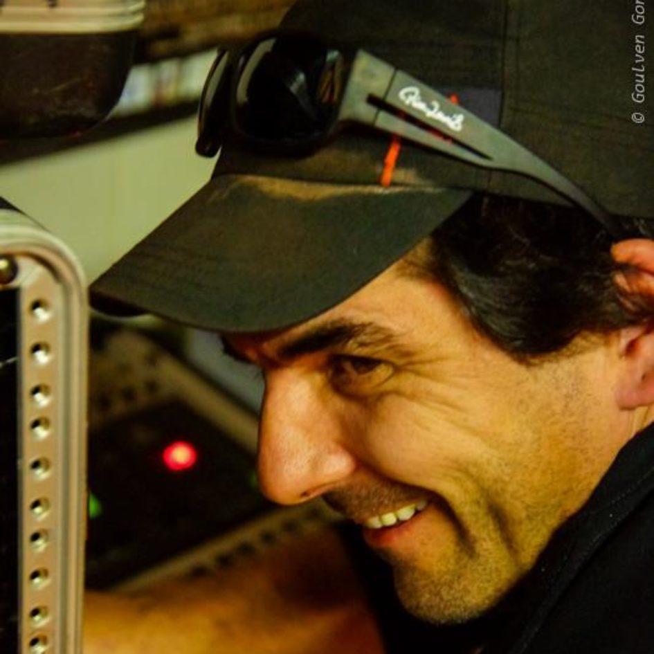 Fred Abrial portrait de profil