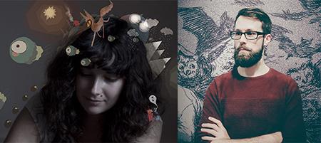 Conférence d'Amélie Fléchais et Jonathan Garnier, auteurs de bandes-dessinées