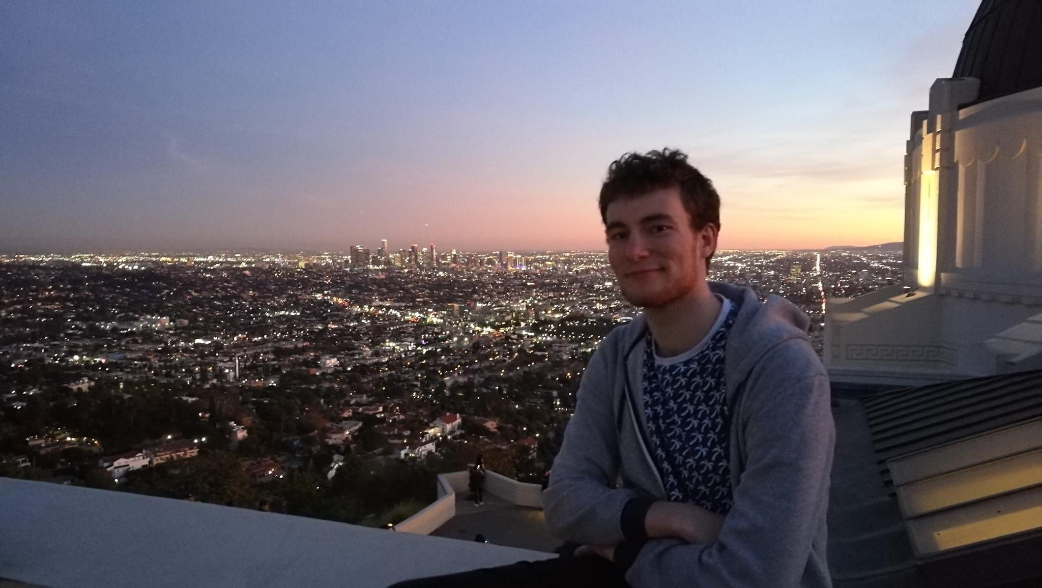 François Briantais à Los Angeles