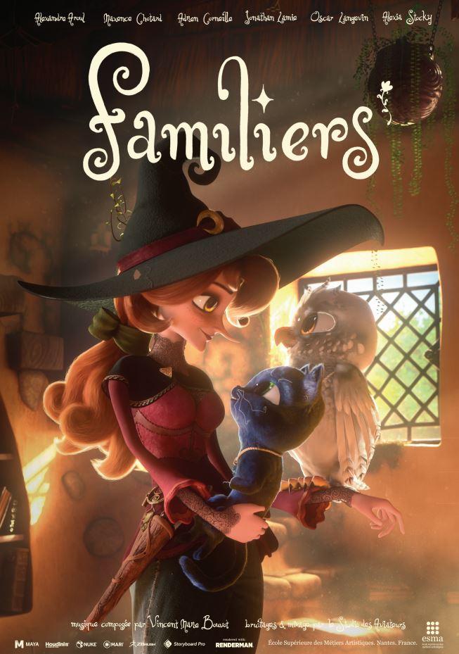 Familiers | ESMA 3D | École Cinéma d'Animation 3D & Effets Spéciaux