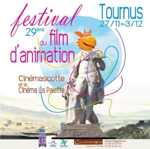 Pour une Poignée de Caramels receives an award at the Festival Films d'Animation de Tournus