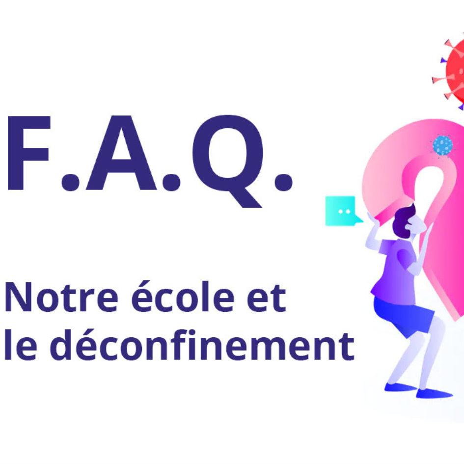 FAQ déconfinement covid 19 ESMA