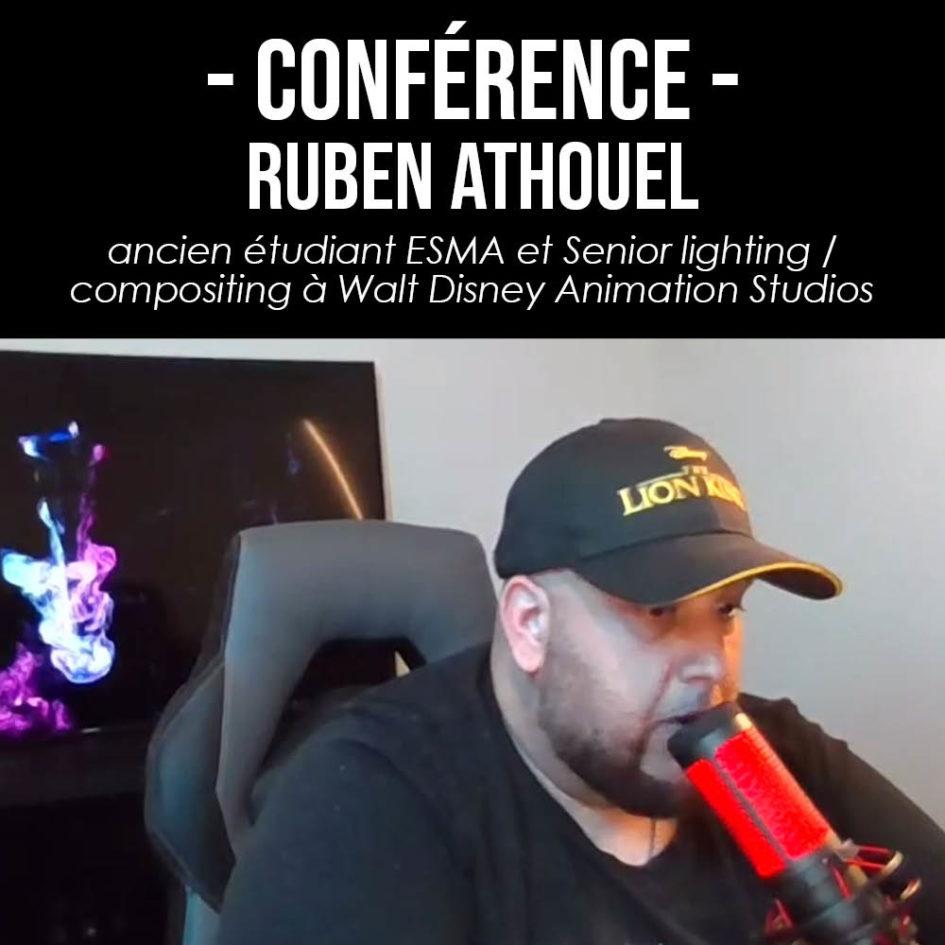 Conférence Ruben Athouel à l'ESMA