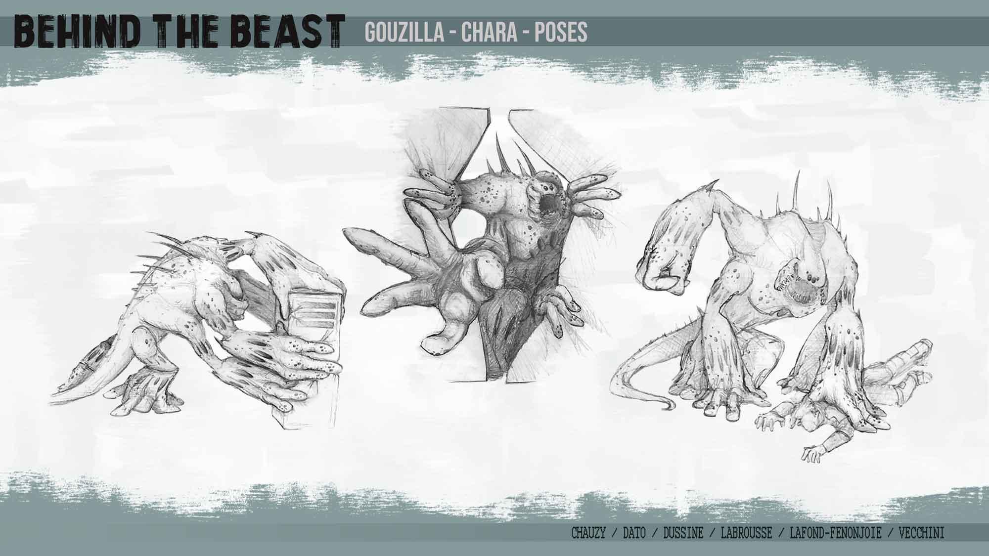Travail pré-prod Behind the beast