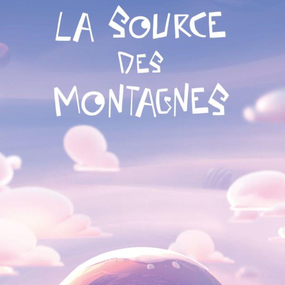 Affiche la source des montagnes