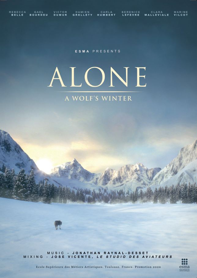 Alone a Wolf's Winter