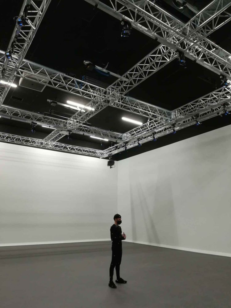 The Montpellier campus acquires a motion capture equipment